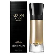 Armani Code Absolu Parfum 60ml For Men