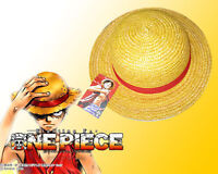Anime One Piece Monkey D Luffy Straw Hat Pirate Wheat Cap Handmade Rope Cosplay