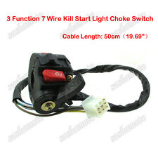 Kill Start Light Choke Switch For 50cc 70cc 90cc 110 125cc ATV Quad Taotao Sunl