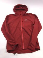 Arc'teryx Squamish Windbreaker Jacket Small Red