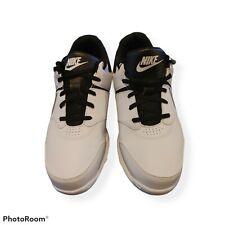 (US 11. 5) Nike Mens Golf Shoes White / Black