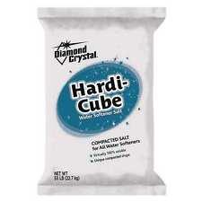 DIAMOND CRYSTAL 100012409 Hardi Cube Water Softener Salt, 50 Lb