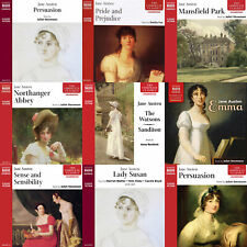 Jane Austen Complete Audio Collection On 4 x mp3CDs (All her Major Works)