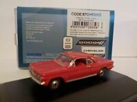 Model Car, Chevrolet Convair - 1963 Red, 1/87 New Oxford 87CH63002