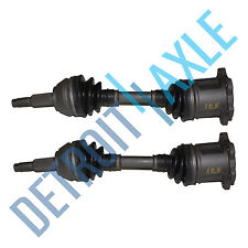 Complete Front Driver and Passenger Side CV Axle Shaft - Made in USA