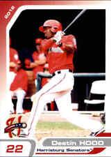 2012 Harrisburg Senators Grandstand #8 Destin Hood Mobile Alabama Baseball Card
