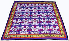 antik handbestickt Uzbek Seide wandbehang Decke Bettüberwurf Tischdecke Nr:SZ-51