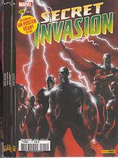 SECRET INVASION N° 1 à 8 SERIE COMPLETE 8 comics Panini Marvel