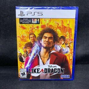 Yakuza Like A Dragon (PS5 / PlayStation 5) BRAND NEW