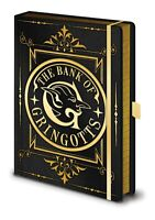 A5 Premium Harry Potter The Bank Of Gringotts Lined Notebook Journal Pad