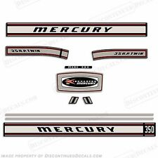 Mercury 1967 35hp Outboard Decal Kit - Reproduction Decals In Stock!