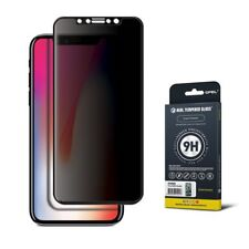 GPEL® iPhone X Anti-spy Screen Protector - Privacy Edge to Edge Tempered Glass