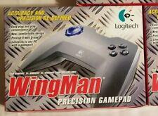 Logitech Wingman Precision Gamepad for PC w/gameport, BRAND NEW Sealed