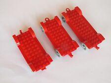 Lego 3x Fabuland Fahrgestell 12x6 14x6 Car Chassis x852c01 fabaa1 338 128