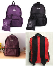 The north face backpack foldable Sports Outdoor travel backpack school bag