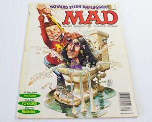 Vintage EC Comics MAD Magazine #339 Sept 1995 - Howard Stern Unplugged