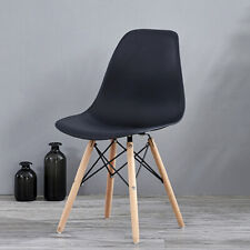 Retro Style Eiffel Chair Office Chair Lounge Chair Study Desk with Wood Legs 1PC