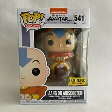 Funko Pop Animation Aang on Airscooter Avatar The Last Airbender Hot Topic Ex