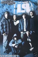 """LINKIN PARK """"GROUP STANDING WITH NEW LP LOGO ABOVE THEM"""" MUSIC POSTER FROM ASIA"""