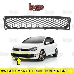 VW GOLF MK6 GTI FRONT BUMPER LOWER GRILLE CENTRE 2009  - 2012 HONEYCOMBE