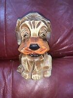 Vtg Napcoware Hound Dog Puppy Bank M-6915 Made in Japan