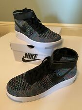 best sneakers a7a44 d4de8 Men s Nike AF1 Air Force 1 Ultra Flyknit Mid Multi Color Size 10 817420-601