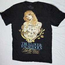 Mens sz XL True Love & False Idols Paris Hilton  Hollyhood T Shirt erf-bb21