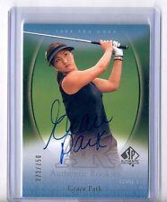 Grace Park 2004 SP Authentic Golf Autograph Rookie RC #273/750 LPGA