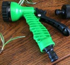 Garden X Hose compatible spray nozzle 6  settings hosepipe tap connector