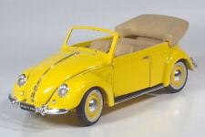 Maisto 1951 VW Volkswagen Beetle Bug Convertible Cabriolet 1:18 Scale Model