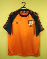 England jersey shirt Training official umbro football soccer retro size L