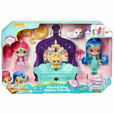 Fisher-Price Shimmer and Shine FLOAT & SING PALACE FRIENDS & DOLLS-NEW-FREE SHIP