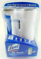 Lysol No Touch Hand Soap Dispenser Unit Only  White New In Box Sealed