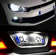 4 lampadine a LED bianco luci posizione + luci di targa per Volkswagen Scirocco
