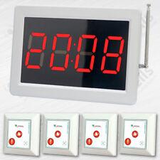 Drahtlose Rufsystem: 4x Rufsender SYT500-3 & Ruf-Empfänger ZJ-46S - Smart-Serie