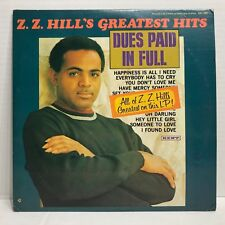 Z.Z. HILL GREATEST HITS DUES PAID IN FULL KENT RECORDS KST-560
