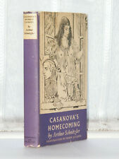 Arthur Schnitzler Casanova's Homecoming Robin Jacques Illustrations 1st Ed 1954
