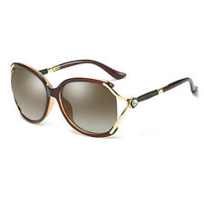 New Womens Ladies Designer Polarized UV400 Sunglasses Oversized Driving