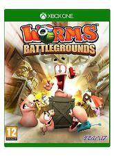 Xbox One juego Worms Battlegrounds mercancía nueva