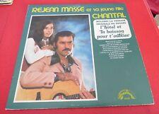 LP vinyl Album Rejean Masse et sa Jeune Fille Chantal ! Country Western