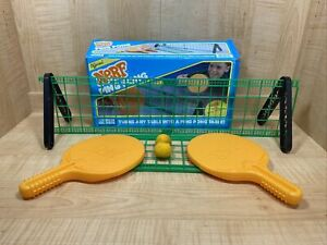 Vintage Parker Brothers Model # 0304 Official NERF Ping Pong Table Game 1987