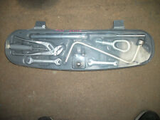 BMW E46 COMPLETE Emergency Trunk Tool Kit Box 323i 325i 330i M3 323ci 325ci 330
