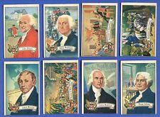 1952 Bowman U S Presidents Complete Set 36 Cards