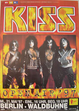 KISS CONCERT TOUR POSTER 1997 CARNIVAL OF SOULS