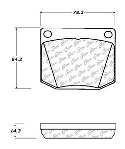 Disc Brake Pad Set-Eng Code: TCF Front Centric 102.00020