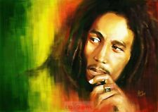 Poster A3 Bob Marley Cantante / Singer Famoso Famous Cartel 11