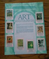 000 Art Masterpieces Limited Edition World Of Stamps Series Lesotho Collection