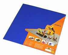 """Generic Blue 50x50 stud base plate or cover 15x15"""" area baseplate + 1 Lego pc"""