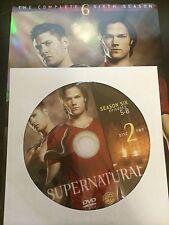 Supernatural - Season 6, Disc 2 REPLACEMENT DISC (not full season)