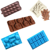 Various Shape Silicone Ice Cube Tray Mold Bar Ice Cube Chocolate Mold Mould Tray